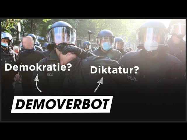 Demo-Verbote: Ist die Demokratie in Gefahr?