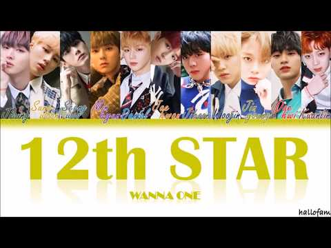 Wanna One – '12th Star' (12번째 별) [Han/Rom/Indo] Color Coded Lyrics Sub Indo