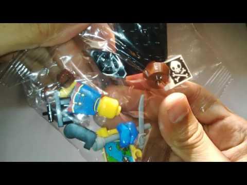 Unboxing LEGO - Lego Minifigures Pirates of Caribbean Part 2 Bootleg Minifig