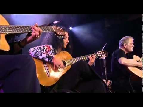 Larry Coryell, Badi Assad & John Abercrombie - Three Guitars - Live New Morning Paris (Official)