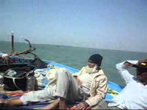 FISHING NEAR PORTQASIM kARACHI