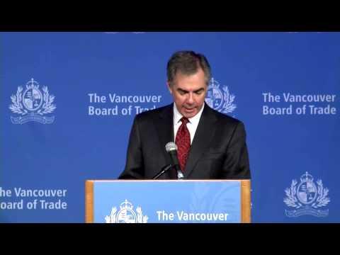 Alberta Premier Jim Prentice at The Vancouver Board of Trade