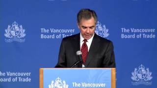 Alberta Premier Jim Prentice at The Vancouver Board of Trade