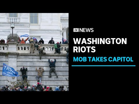 Chaos in Washington DC after Trump supporters storm Capitol building | ABC News