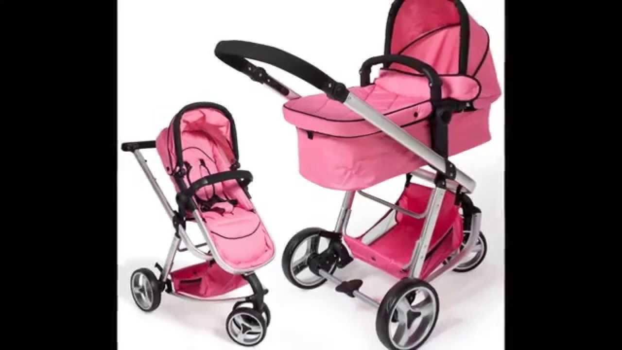 tectake 3 en 1 sillas de paseo coches carritos para bebes convertible rosa youtube. Black Bedroom Furniture Sets. Home Design Ideas