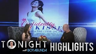 TWBA:  Kisses  talks about her upcoming first major solo concert