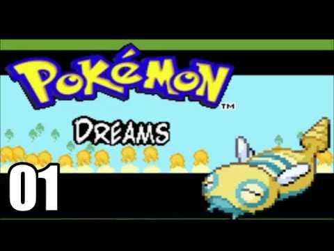 Pokemon Dreams - Part 1 - NEW COMPLETED ROM HACK (Walkthrough/Let's Play)