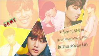 BTS 방탄소년단 COME BACK HOME Color coded Han Rom Eng
