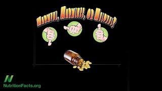Antioxidační vitamínové doplňky stravy
