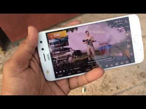 PUBG ON MOTO Z2 PLAY High Graphics