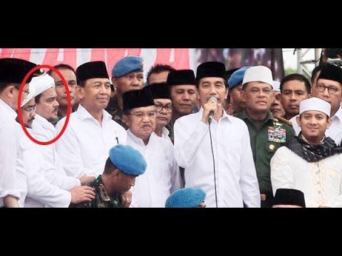 """Nyali Presiden Jokowi, Tetap Datangi Pendemo 212"""" Meski Telah Diminta untuk Dibatalkan"""