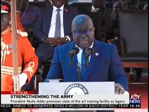 Strengthening the Army - The Pulse on JoyNews (19-10-18)