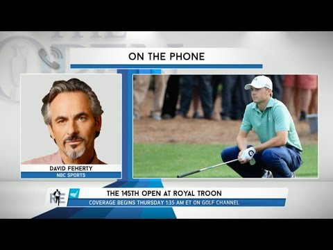 Golf Channel Analyst David Feherty on The 145th Open at Royal Troon - 7/13/16