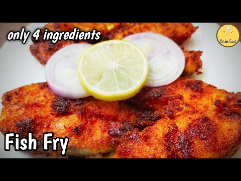 Fish Fry || Easy And Delicious Fish Fry Recipe || Fish Fry Only With 4 Ingredients