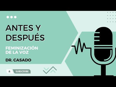 Voz antes y después cirugia de feminización de la voz -Clinica Otorrino Marbella