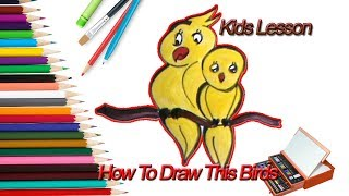 how to draw bird (owl) ! Drawing ! Drwaing Lesson For Kids ! Online Free Drawing Tutorial beginners