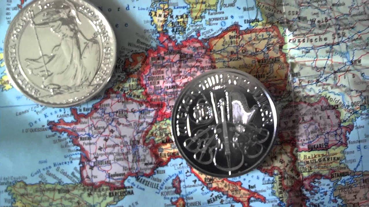 Silver´s safe and sexy 20: Silbermünzen rund um die Welt