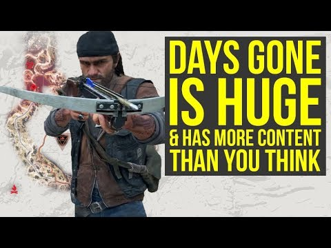 Days Gone PS4 IS WAY BIGGER Than You Think - A Lot Of New Info (Days Gone Gameplay) thumbnail