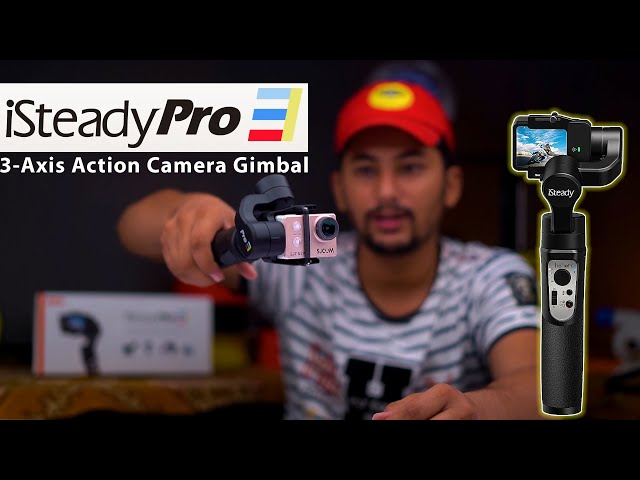Hohem iSteady Pro 3 3-Axis Gimbal For Action Camera Review Urdu Hindi