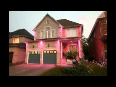 White and RGB LED Outdoor Potlights - Christmas Special - YouTube
