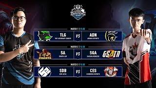 TLG vs ADN | SA vs SGA | SDB vs CES - Vòng 2 ĐTDV SerieB Mùa Đông 2019