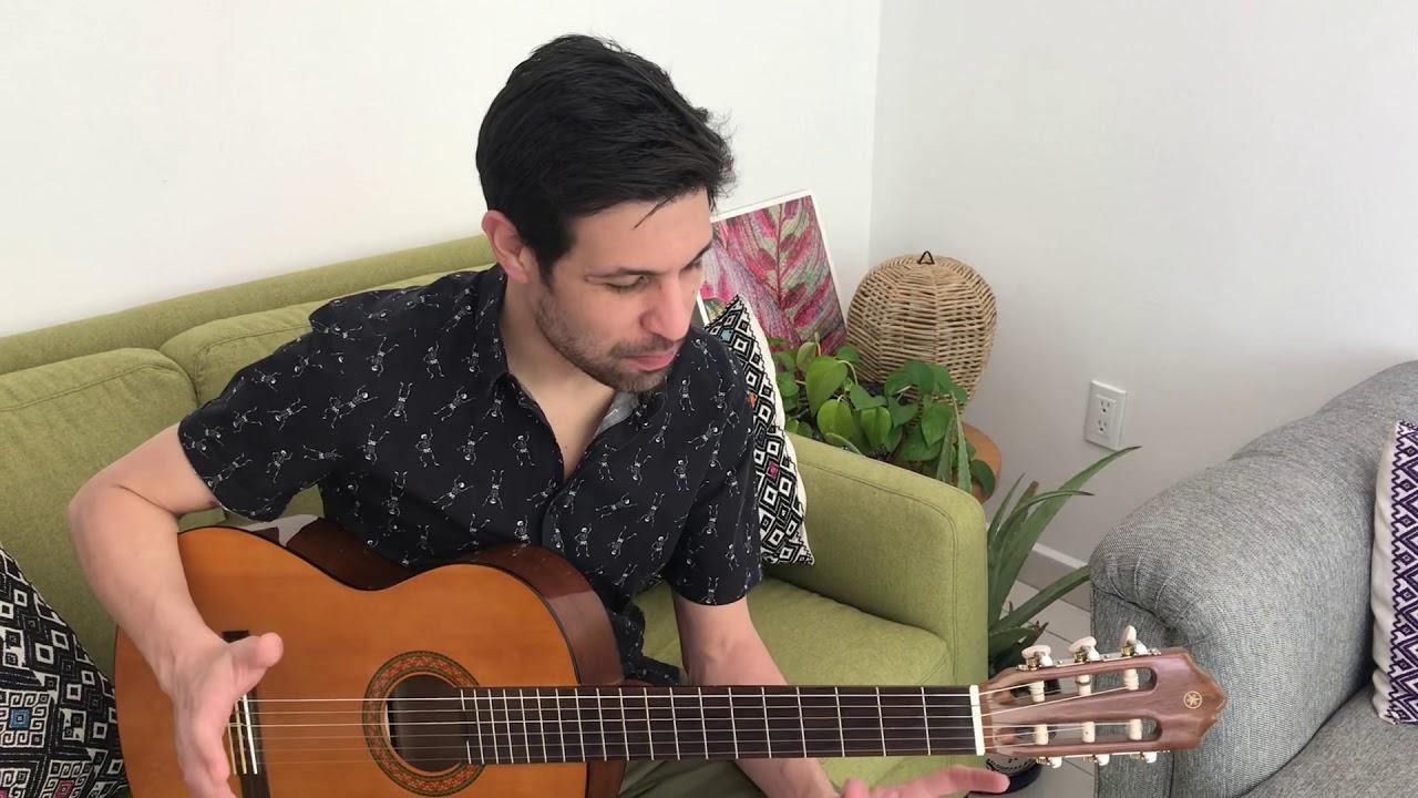 Espumas y Terciopelo - Junto a ti (Tutorial de Guitarra)