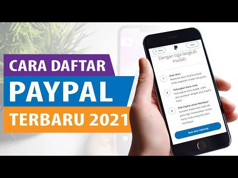Cara Daftar Paypal - Aktivasi Akun Paypal Terbaru 2021