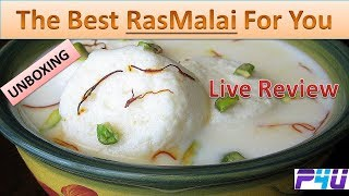The Best Rasmalai  Live Review Top Sweet Dishes