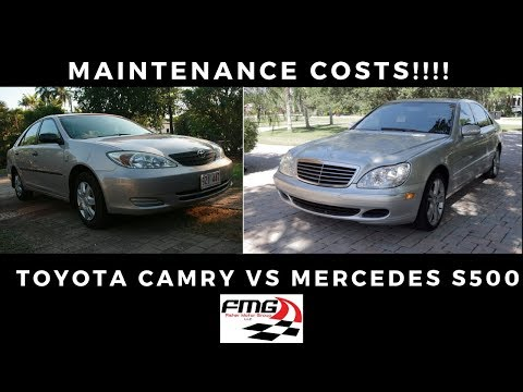 is-a-toyota-more-expensive-to-fix-than-mercedes-benz!?!?