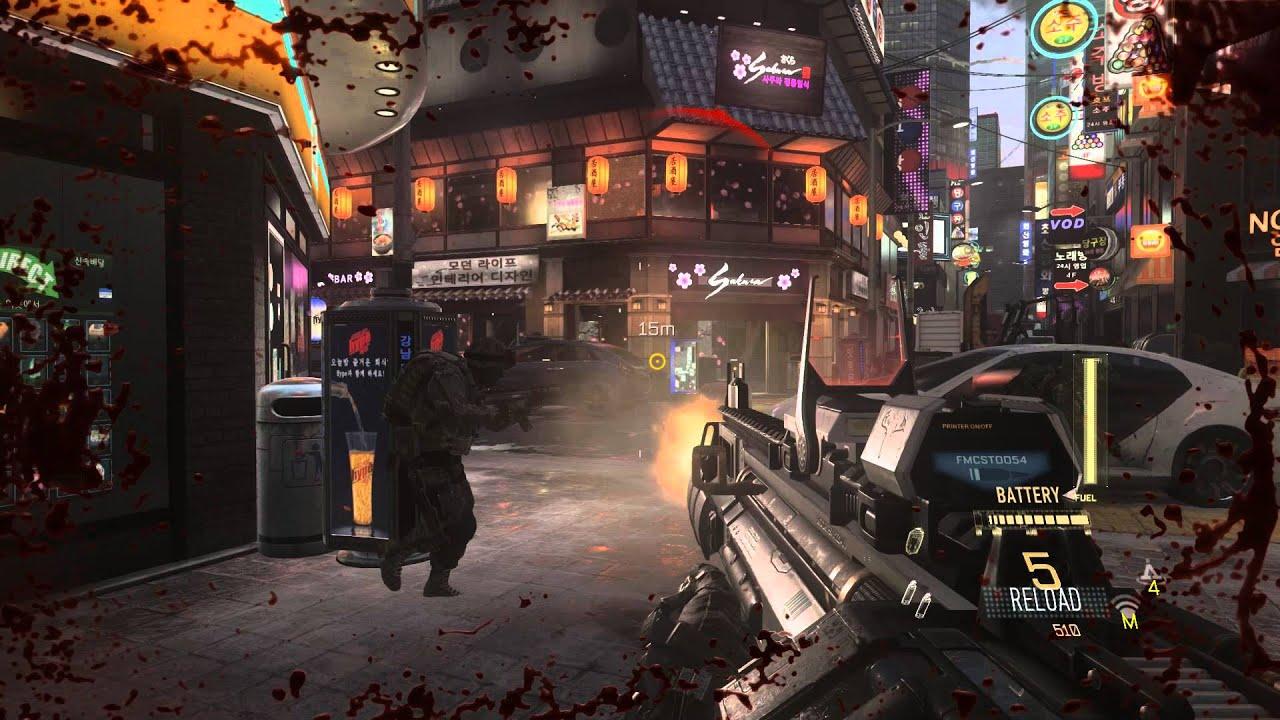 Call of Duty Advanced Warfare GamePlay on Max Settings ...