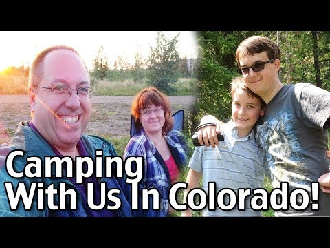 Come Camping With Us In Colorado! Wait Until You See What Happened To The Popcorn!