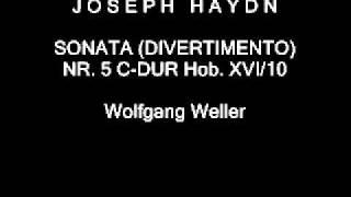 Haydn, Sonata (Divertimento) Nr. 5 C-Dur Hob. XVI/10, Wolfgang Weller 2012.
