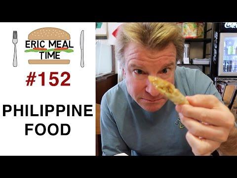 Filipino Food - Eric Meal Time #152