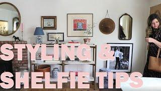 Home Decor // Styling & Shelfie Tips