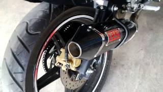 Yamaha YZF R15 Knalpot Racing Yoshimura TRC USA Carbon (Motoralap Exhaust)