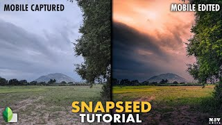 Warmer Landscapes in SNAPSEED   SNAPSEED TUTORIAL   Android   iPhone screenshot 2