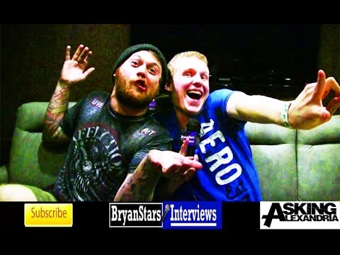 Asking Alexandria Interview #5 Danny Worsnop South By So What 2014