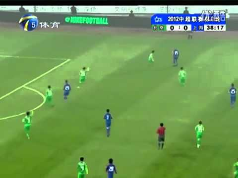 All of Anelka's touches in his Chinese Super League debut [03.16.2012]