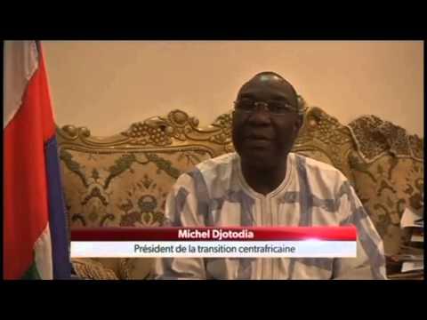 Michel Djotodia - Pdt de la Transition en Centrafrique
