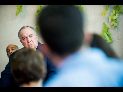 Engler calls Larry Nassar evil doctor, cancer to MSU