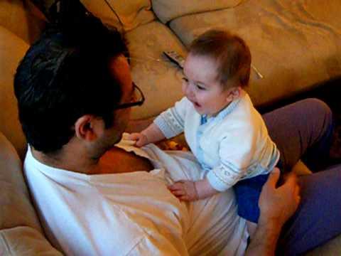 Eliyah Lev and Abba good times.AVI