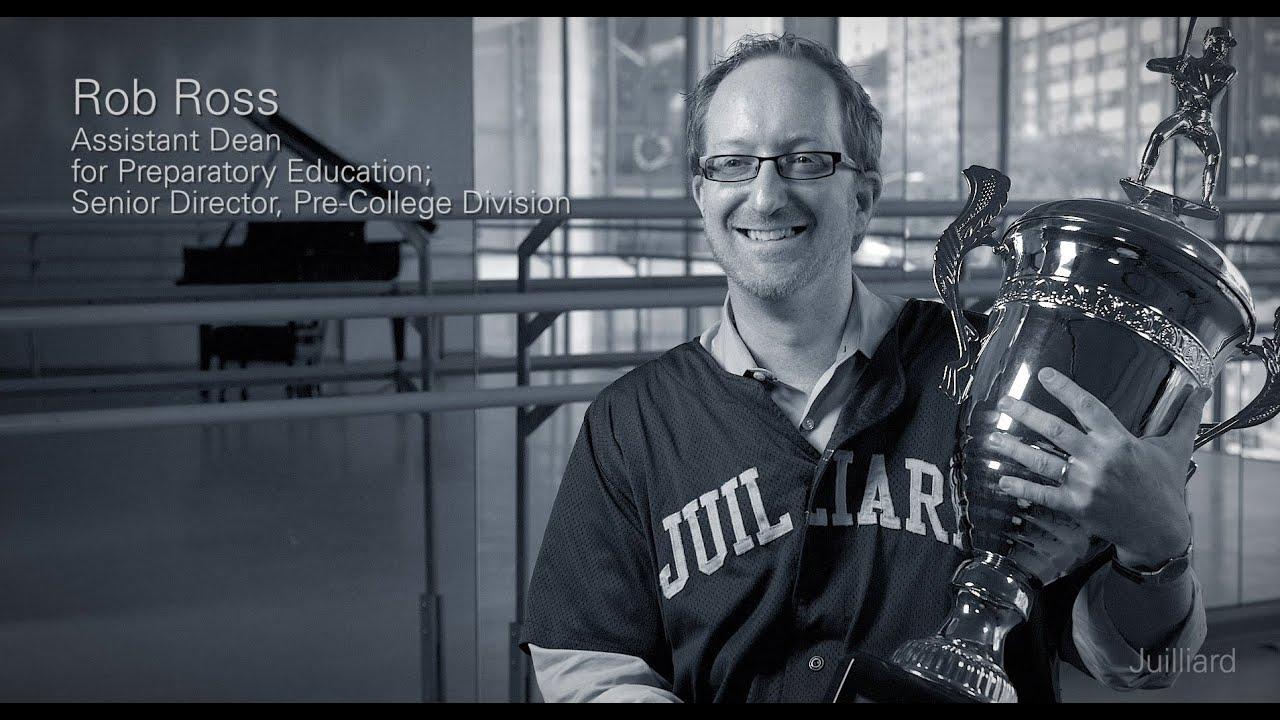 Juilliard Snapshot: Rob Ross On Juilliard's Softball Team