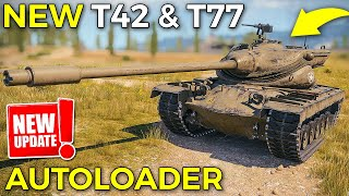 T42 \u0026 T77, 2 NEW American Medium Tanks | World of Tanks T77 and T42 Review
