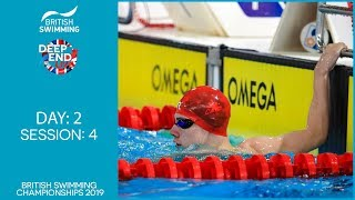 British Swimming Championships 2019 – Session 4