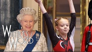 Gymnastics at the Palace | Press Handstands with the Queen | Whitney