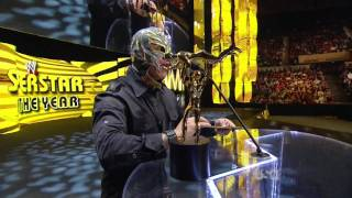 Rey Mysterio Returns WWE Raw Slammy Awards 12.12.11 [ HD ]