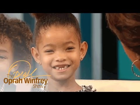 Adorable 5YearOld Willow Smith Steals the   The Oprah Winfrey   Oprah Winfrey Network