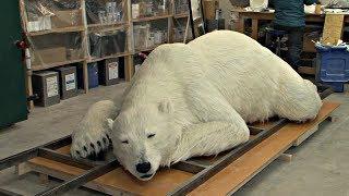 В Японии сделали белого медведя, невероятно похожего на настоящего (новости)