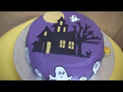 Decorare Una Torta Per Halloween Tutorial Passo Passo