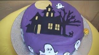 Decorare una torta per Halloween,TUTORIAL PASSO PASSO